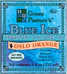 Green Pasture Fermented Cod Liver Oil - OSLO ORANGE