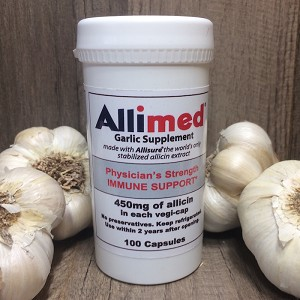 Allimed Capsules - 200 ct. (450mg each)
